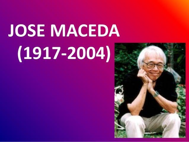 JOSE MACEDA (1917-2004)