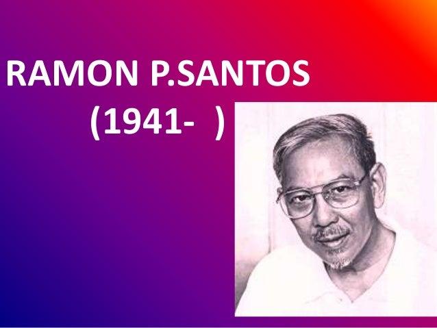 RAMON P.SANTOS (1941- )
