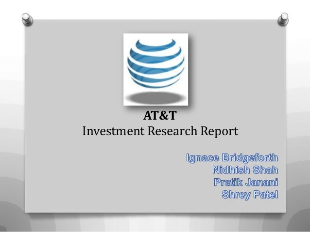 AT&T Investment Research Report