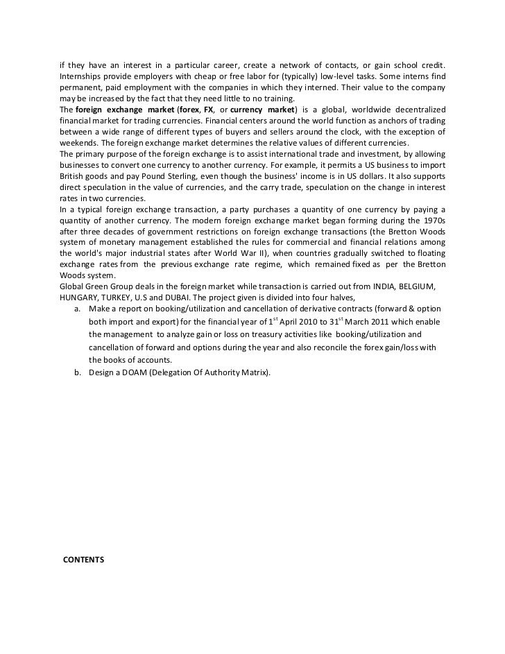 Global forex institute vacancies