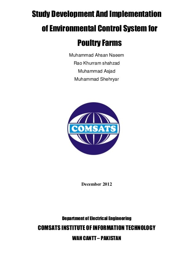 Study Development And Implementation  of Environmental Control System for                 Poultry Farms            Muhamma...