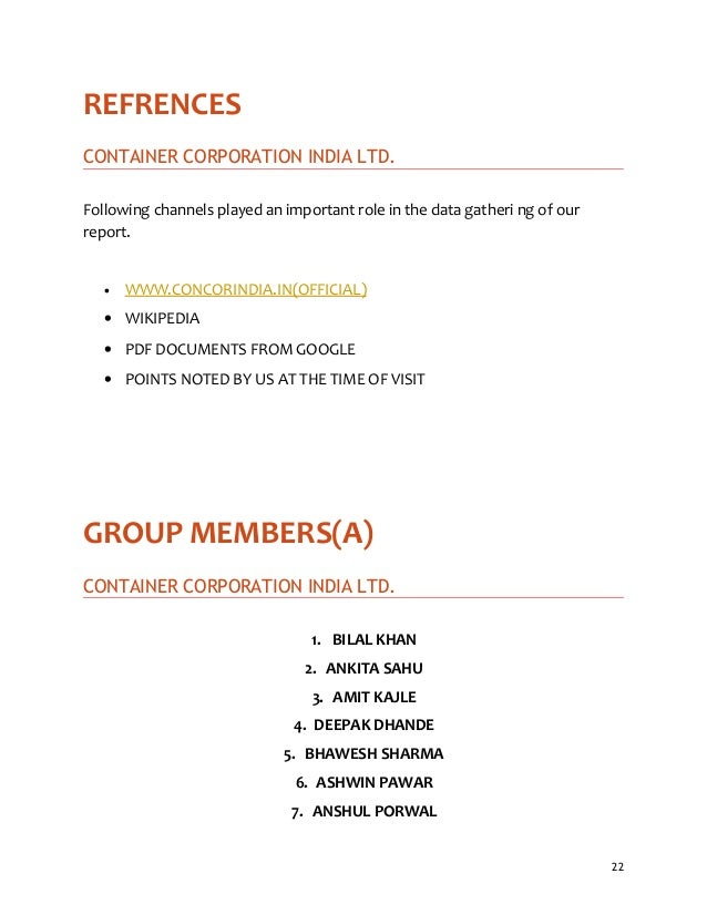 Industrial report pdf