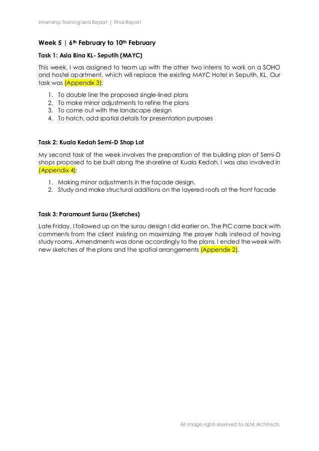 Internship Training and Report