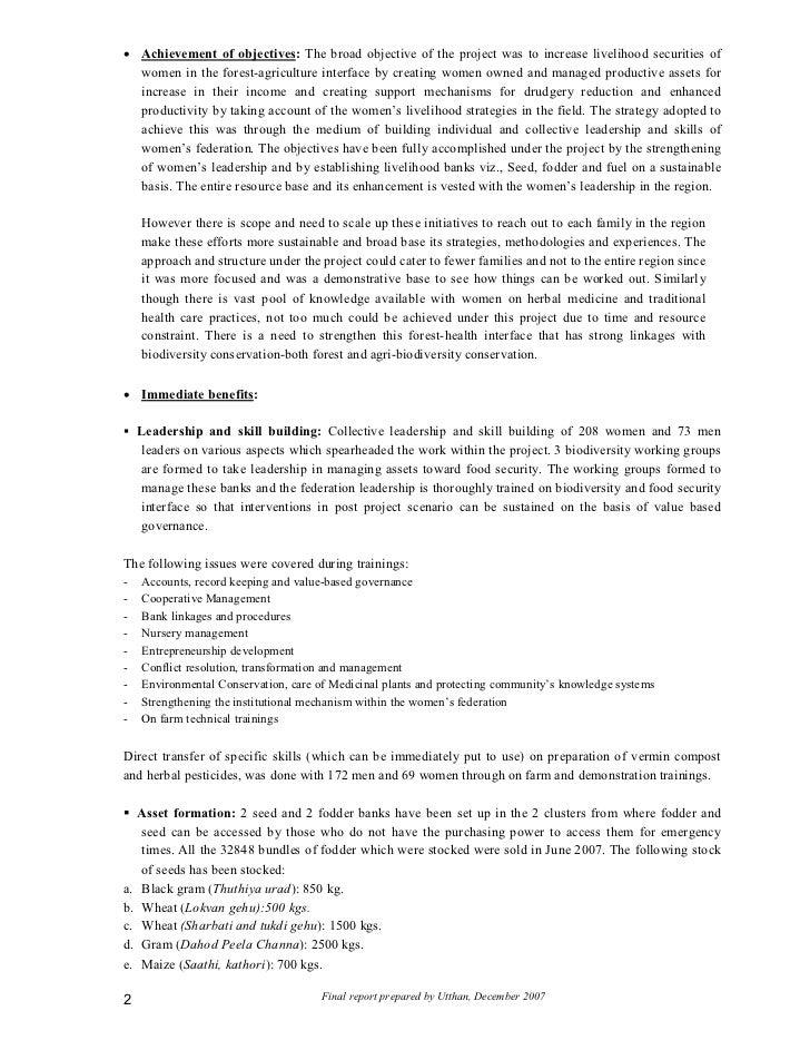 Final report livelihood_security_through_biodiversity Slide 2