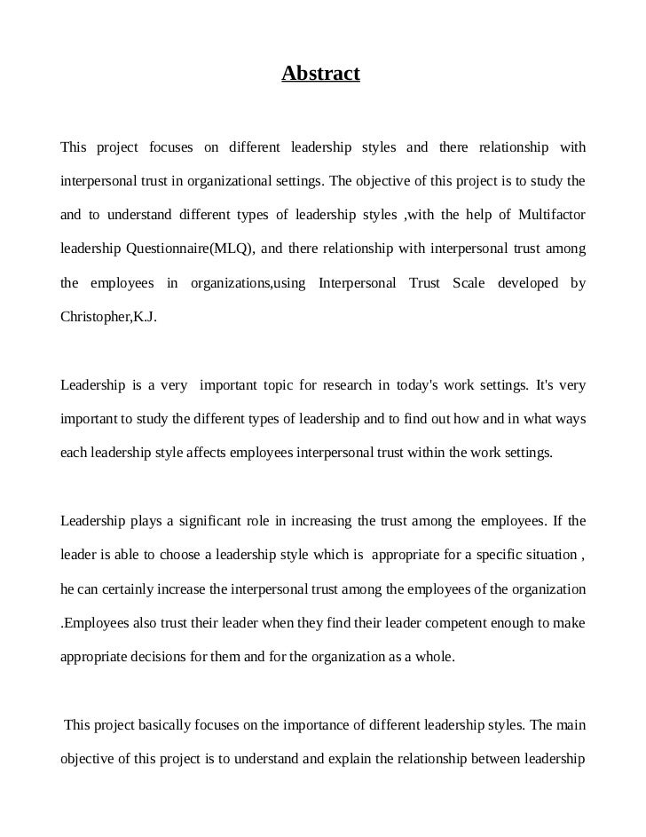 understanding leadership styles 5 essay Free sample essay on developing your leadership styles behaviour in terms of the three global scales understanding how these work in terms of.