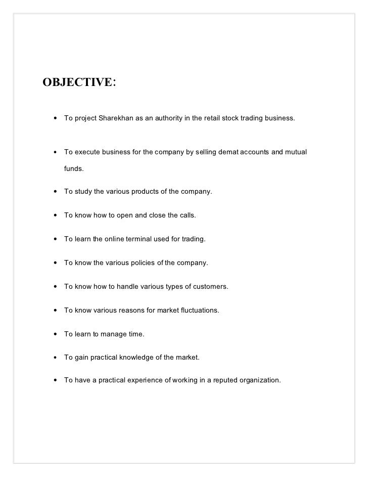 aims and objectives of demat account
