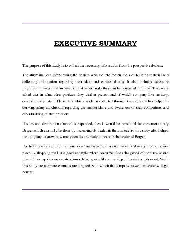 "executive summary of an internship report Executive summary the internship report recruitment and selection process of enam labels limited"" is originated as a partial requirement of bba program, department."