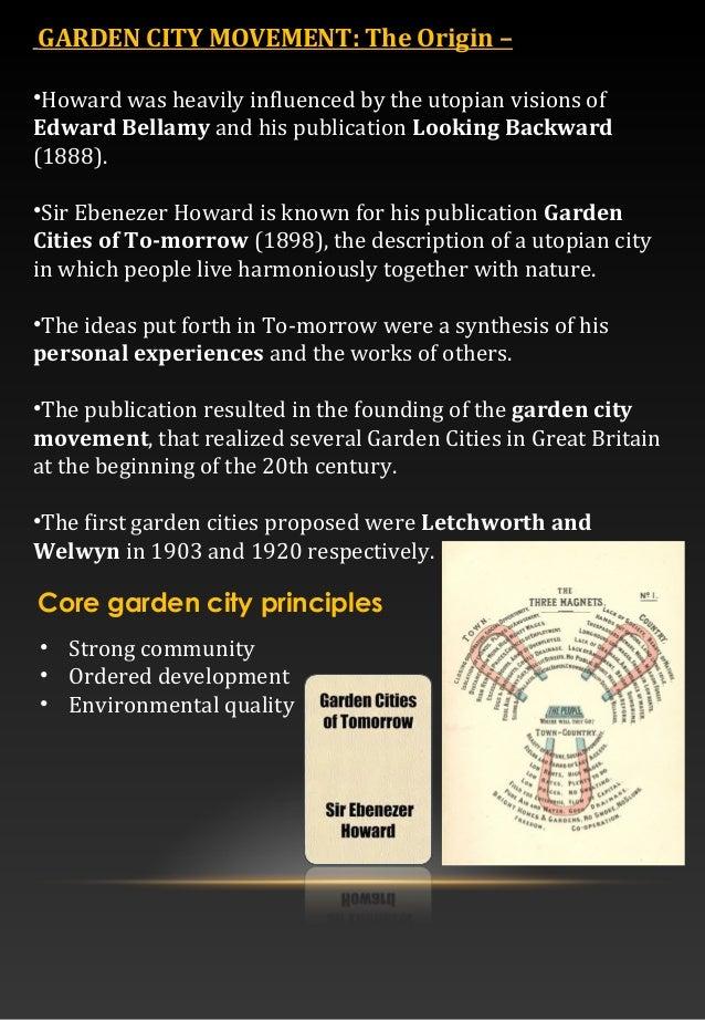Ebenezer Howard Garden City Report