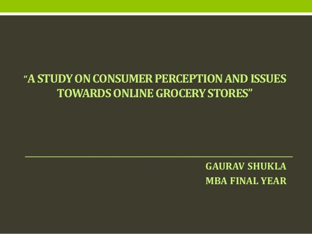 Mba research report