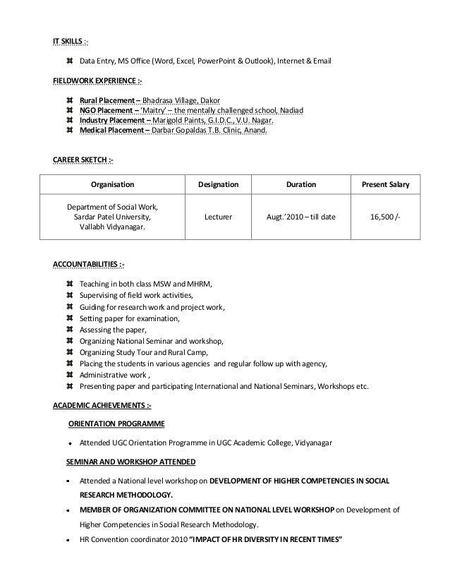 final resume 1