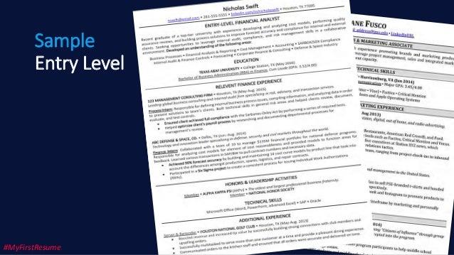 Resume Writing for Recent College Graduates