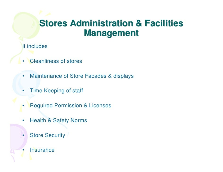 operations management of supermarket retail shops Store operations management store operations is the life blood of our retail management experience 3-5 pick n pay bedfordview supermarket: receiving.
