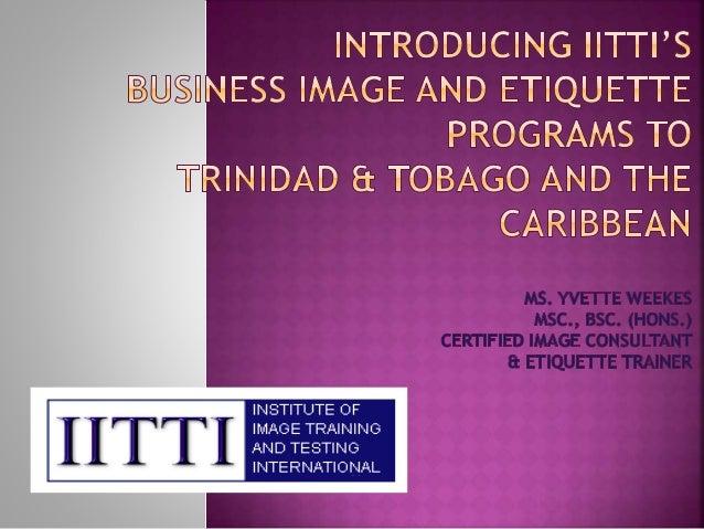 Esteem Image Consultancy & Training Institute proudly introduces the Institute of Image Training and Testing International...