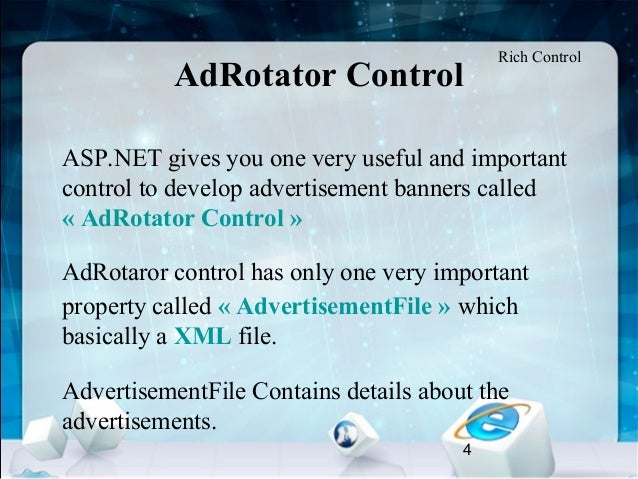 How to use adrotator control in asp. Net youtube.
