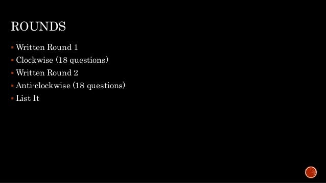 KQA Cricket Quiz 2017 Finals Slide 2