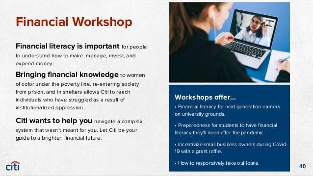 41 Online Financial Workshops
