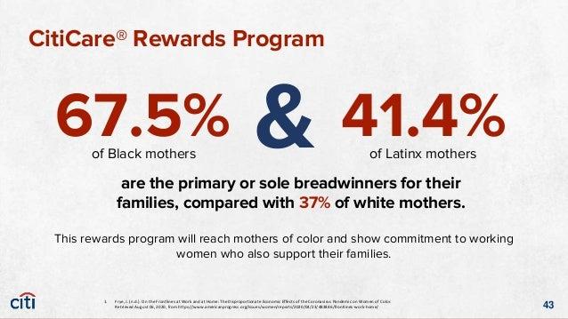 CitiCare® Rewards Program A new Citibank ThankYou® Rewards card that offers cash back rewards for child care merchandise. ...