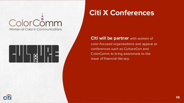 Citibank understands the importance of career readiness and the struggle that many Women of Color have. During CultureCon ...