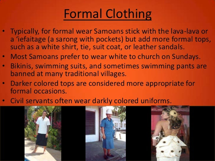 Samoan Culture Final Pp Comst101 Group 4 on Samoan Men