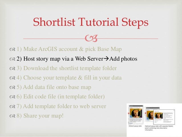 How To Create A Arcgis Story Map Final Presentation