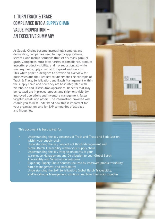 Supply Chain Integrity White Paper
