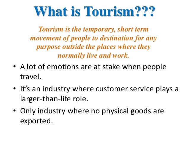 Foreign tourist behavior and perceptions of indian tourism