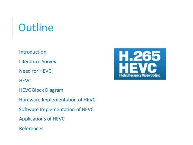 an overview of high efficiency video codec hevc h 265 rh slideshare net