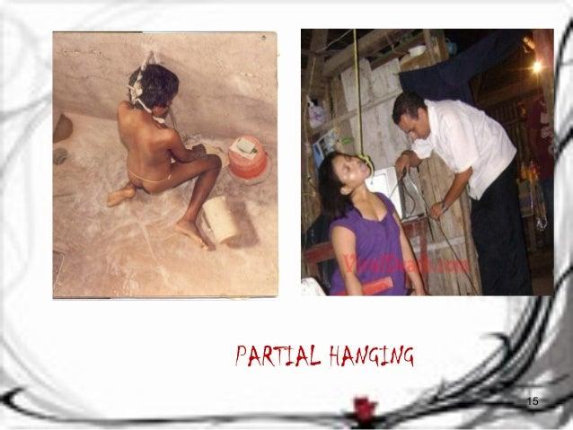 PARTIAL HANGING  15