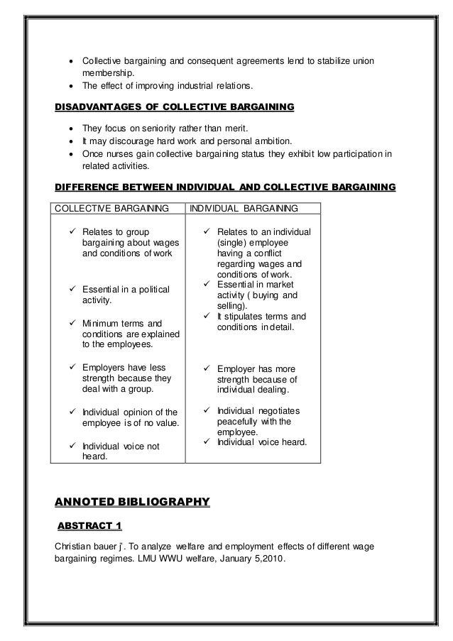 Collective Bargaining Agreement Template Sarahepps