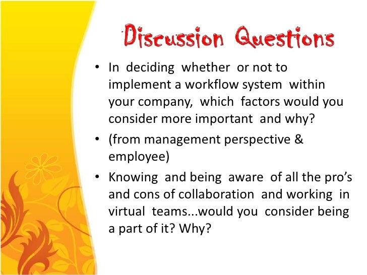 Workflow und Zusammenarbeit