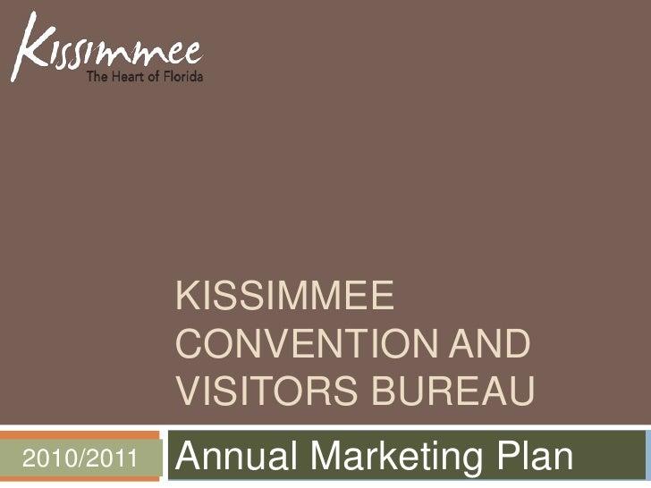 Kissimmee CVB Partner Marketing Forum Presentation