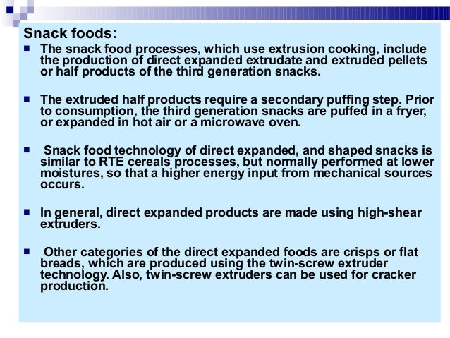 Snack Foods Processing Ebook