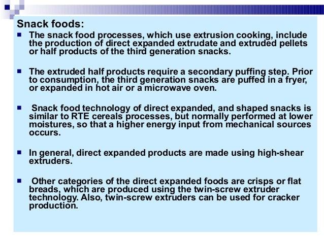 Snack Foods Processing Ebook