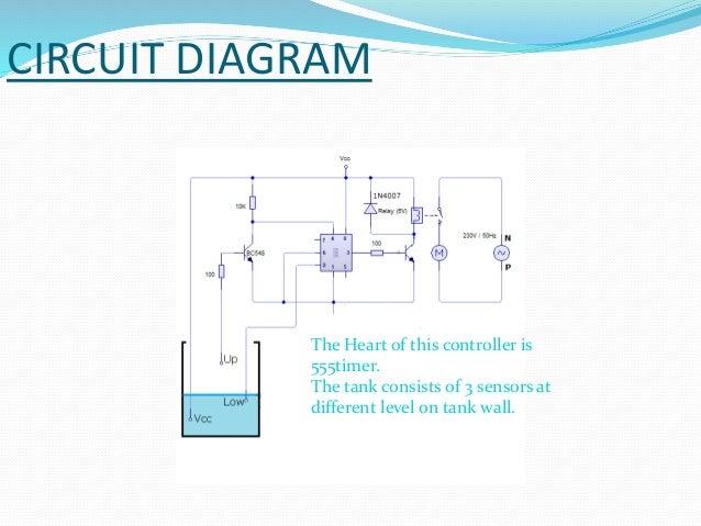 Automatic Water Pump Controller Circuit Diagram Pdf Auto
