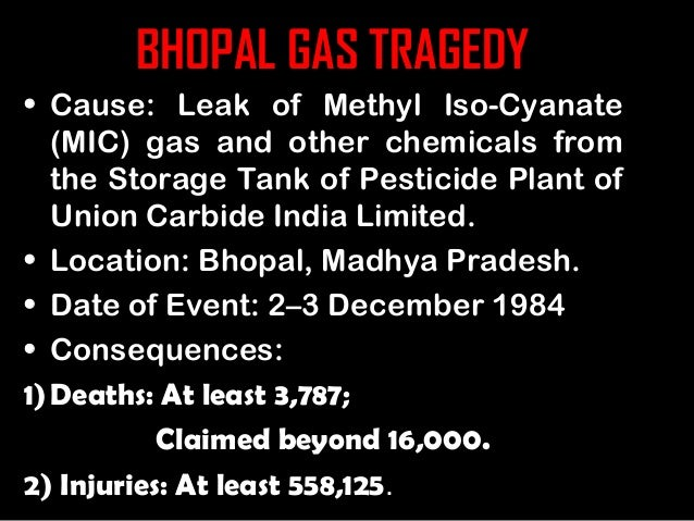 ethical issues in bhopal gas tregedy This was the beginning of years of legal machinations in which the ethical implications bhopal gas tragedy since the bhopal disaster.