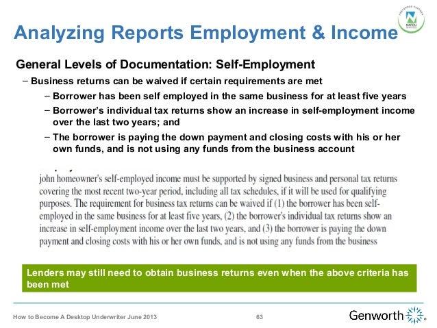 desktop underwriter training webinar slides rh slideshare net Icon Self-Employed Icon Self-Employed