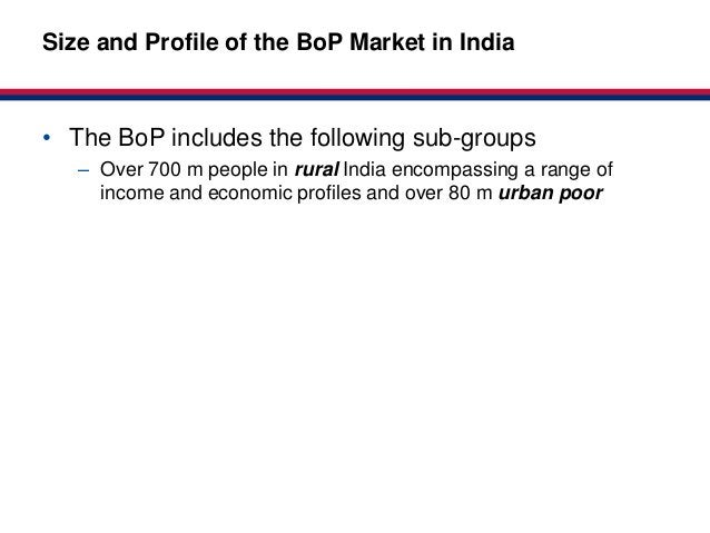 Market-basedSize and Profile of the BoP Market in India                                              Partnerships for Heal...