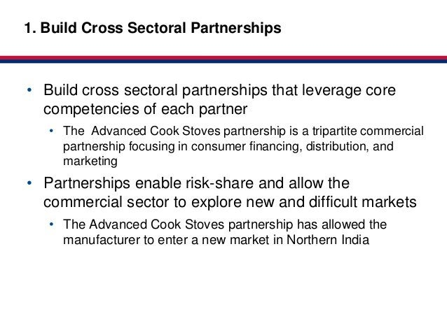 Market-based1. Build Cross Sectoral Partnerships           Partnerships for HealthClick to edit Master title style• Build ...