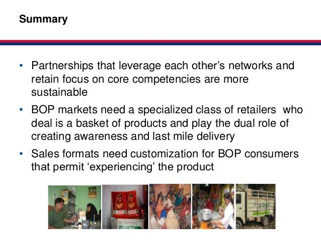 Market-basedSummary                                          Partnerships for HealthClick to edit Master title style• Part...