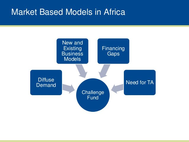 Market Based Models in Africa                New and                Existing       Financing                Business      ...
