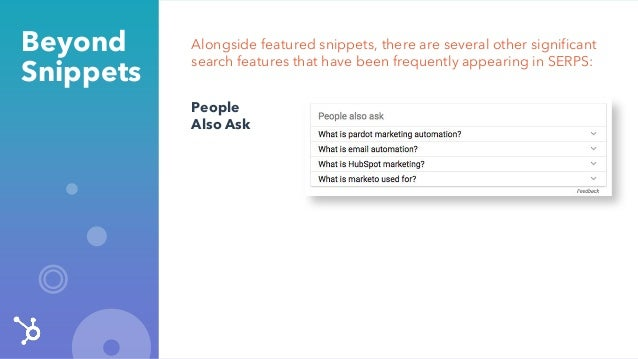 Alongside featured snippets, there are several other significant search features that have been frequently appearing in SE...