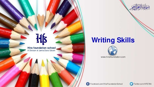 Hira foundation school A Division of Jamia Darul Uloom Facebook.com/HiraFoundationSchool Twitter.com/HFS786 www.hirafounda...