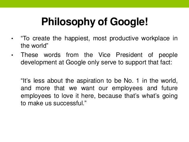 what is google s philosophy about advertising Let's start by looking at the basic definitions of each and then take a dive deeper into how marketing and advertising differ from one another because the difference is significant.