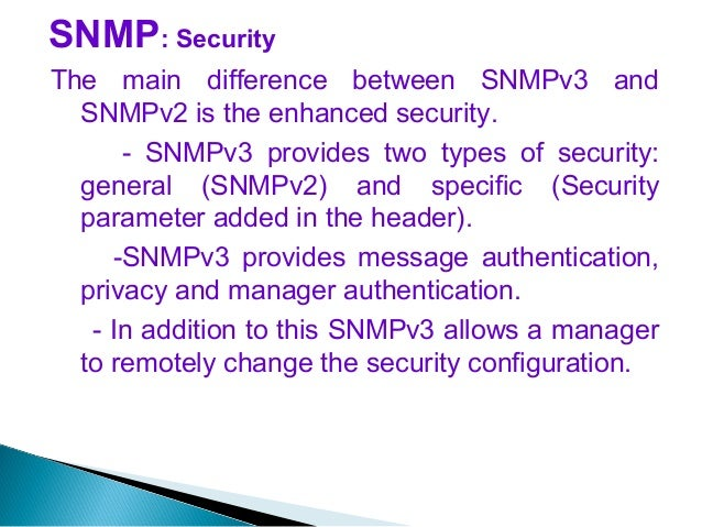 a comparison of the network managements cmip and snmp Operations research network engineering and management object oriented systems engineering advanced data structures and algorithms software architecture and design.