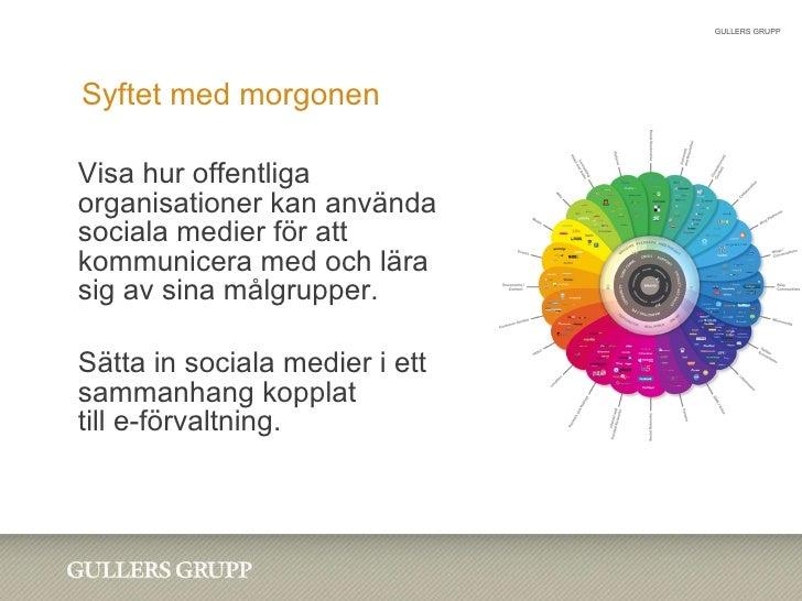 Sociala Medier i Statens Tjänst Informationsföreningen 20100121 Slide 2