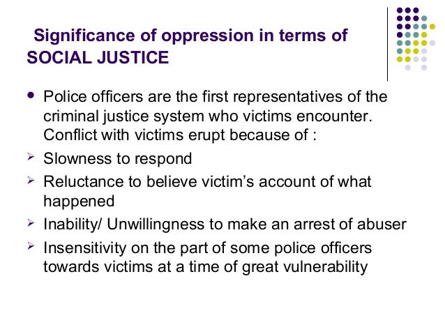 Domestic violence and the criminal justice system social work essay
