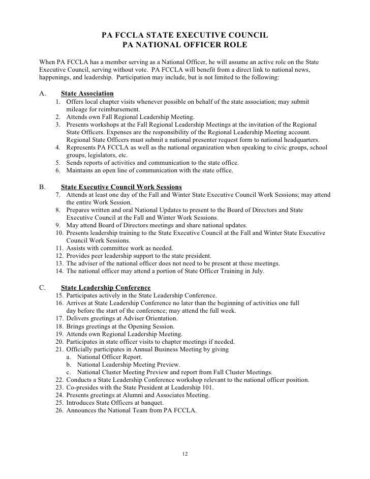 Final So Handbook – Fccla Planning Process Worksheet