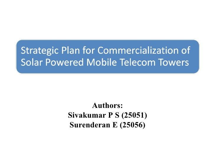 Authors: Sivakumar P S (25051) Surenderan E (25056)