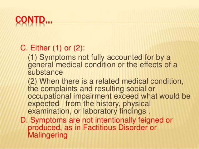 what is soma dependence disorder