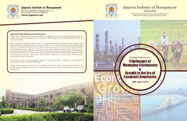 JAIPURIA 100 Years of Excellence Sec-14-C,Vasundhara, Ghaziabad - 201 012 Ph: 0120-4550100, Fax: 0120-2882804 Jaipuria Ins...